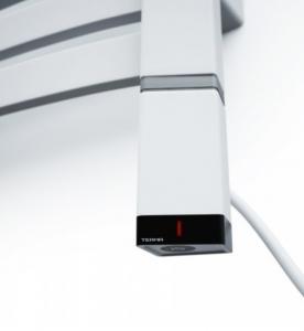 ONE profil T 600[W], (Lewa, Prawa) - Grzałka elektryczna (Biała)